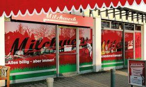 Milchwerk Sonderpostenmarkt Dresden Niedersedlitz