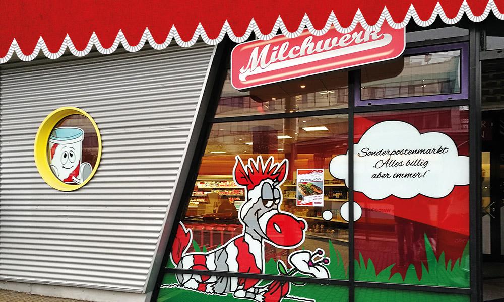 Milchwerk Sonderpostenmarkt Dresden Zschertnitz
