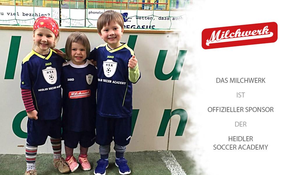 Offizieller Sponsor der Heidler Soccer Academy