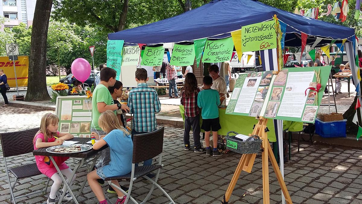 Spiel und Spaß auf dem Bönischplatzfest 2017