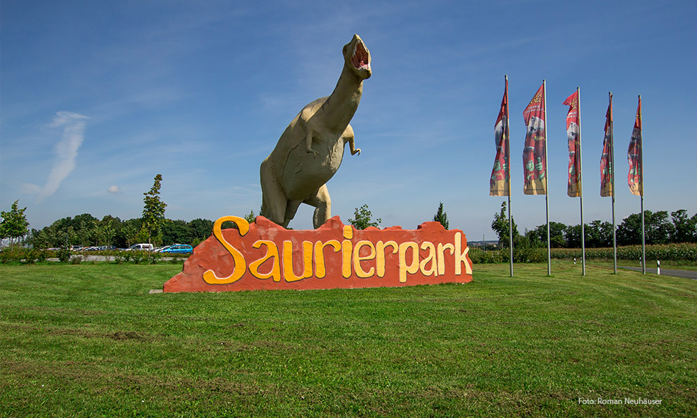 Ausflug in den Saurierpark