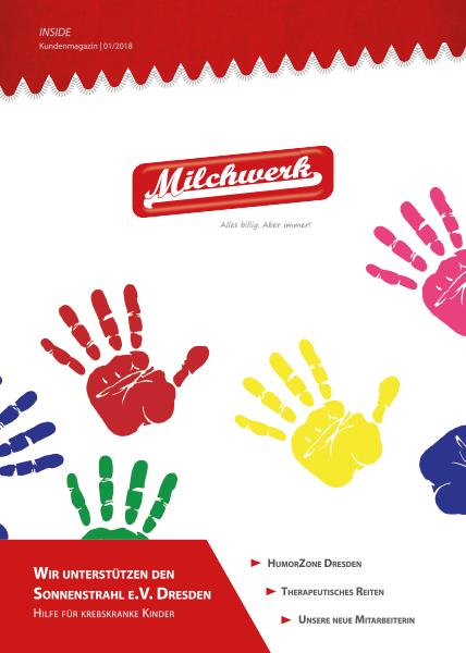 Kundenmagazin Milchwerk INSIDE 01-2018