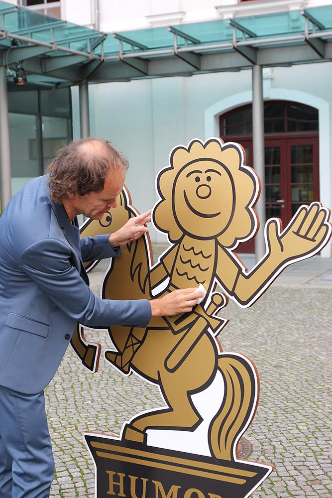 Pressekonferenz zur HumorZone Dresden 2019