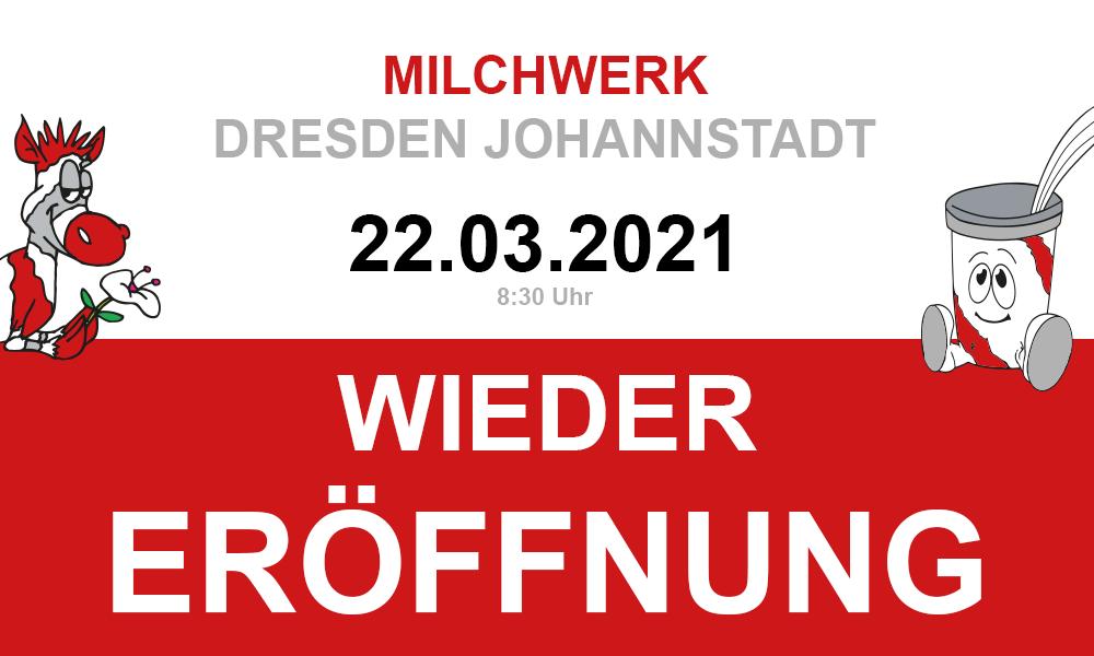 Wiedereröffnung Milchwerk Dresden Johannstadt